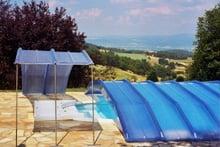 abri piscine climat clair
