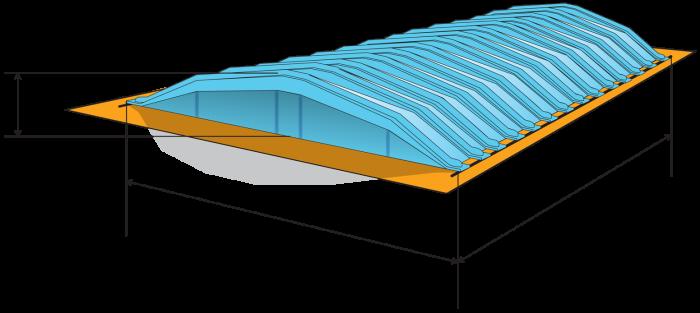 abri piscine pour piscine 8 x 4m moins cher sur piscineo. Black Bedroom Furniture Sets. Home Design Ideas