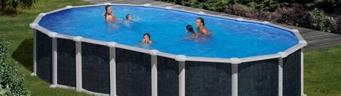 piscine hors sol acier gre alto aspect rotin x x sjf disponible sur piscineo. Black Bedroom Furniture Sets. Home Design Ideas