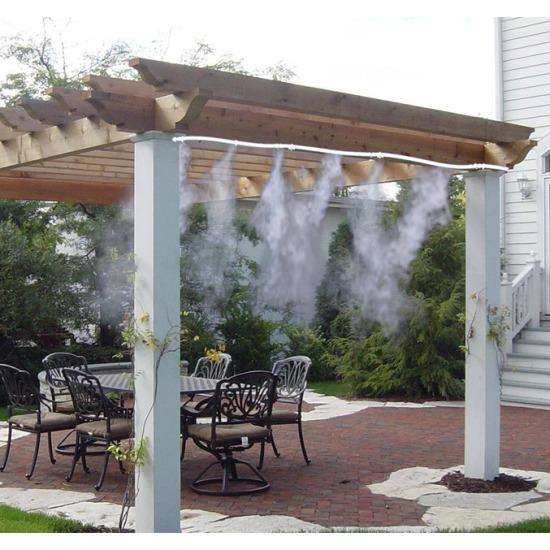Brumisateur de jardin pr t fonctionner longueur 6m piscineo - Brumisateur pour jardin ...