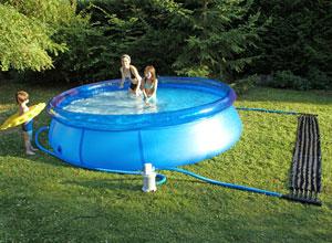 Chauffage solaire sh09 pour petites piscine hors sol for Chauffage pour piscine hors sol