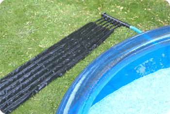 Chauffage solaire sh09 pour petites piscine hors sol for Chauffe eau solaire pour piscine prix