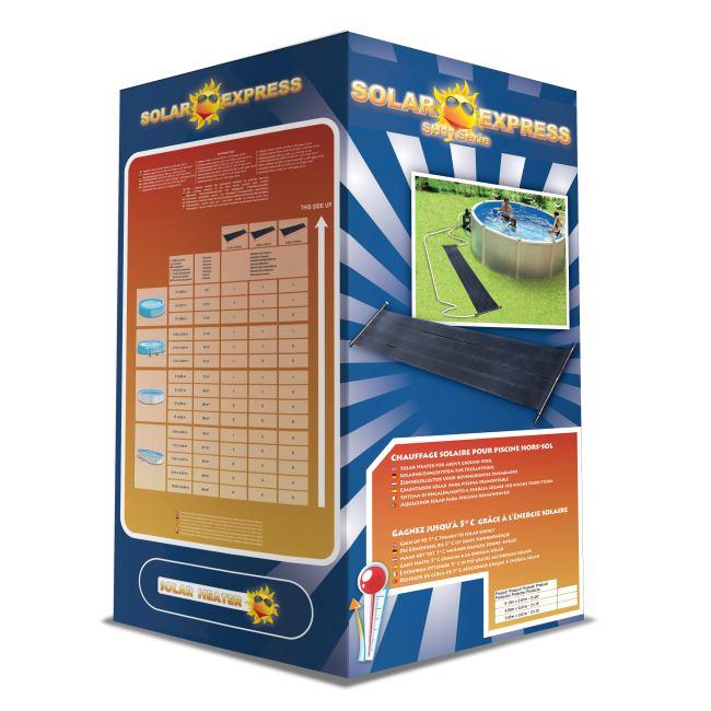 Chauffage piscine solaire sh11 solar express moins cher for Capteur solaire piscine hors sol
