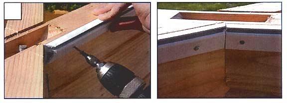 Profil hung vertical pour la r novation de liner piscine for Rail pour liner piscine