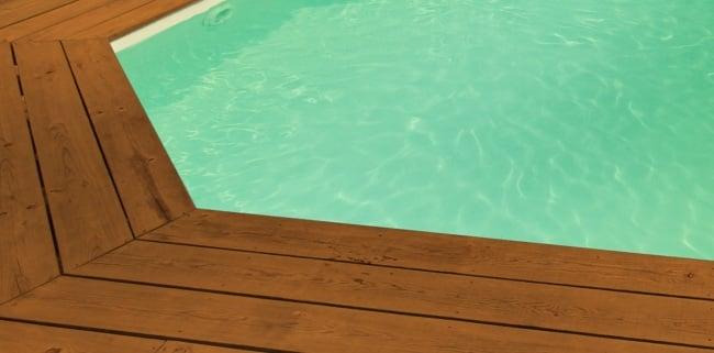 Liner piscine sur mesure beige pour piscine ronde for Liner sur mesure pour bassin