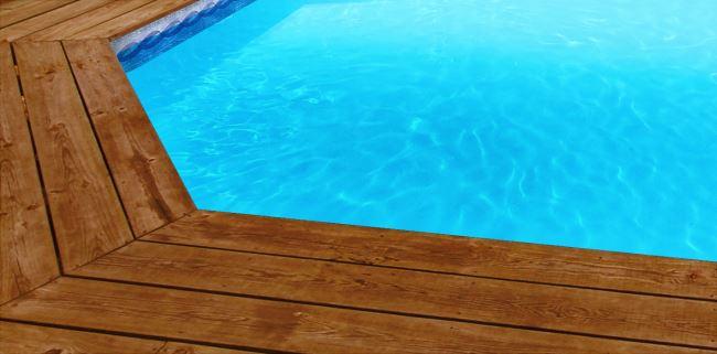 Liner piscine sur mesure bleu clair avec frise olympia for Liner pour bassin sur mesure
