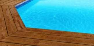 Liner piscine sur mesure bleu clair avec frise olympia for Liner sur mesure piscine octogonale