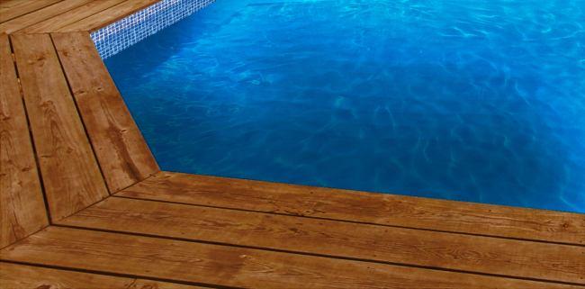 Liner piscine sur mesure bleu fonc avec frise mosa que for Liner sur mesure pour bassin