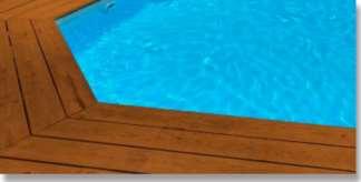 liner piscine bleu clair