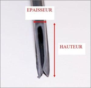 Profil s de fixation pour liner overlap sur piscineo for Profile pour liner piscine hors sol