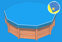 Couverture Piscine - Bache opaque