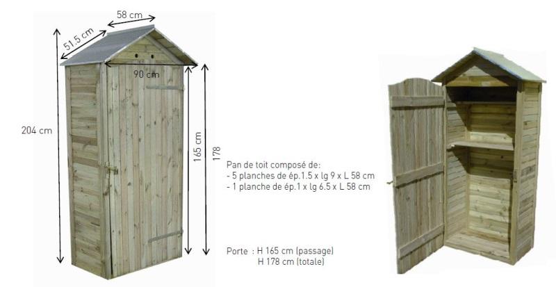 Dimensions grande armoire de rangement