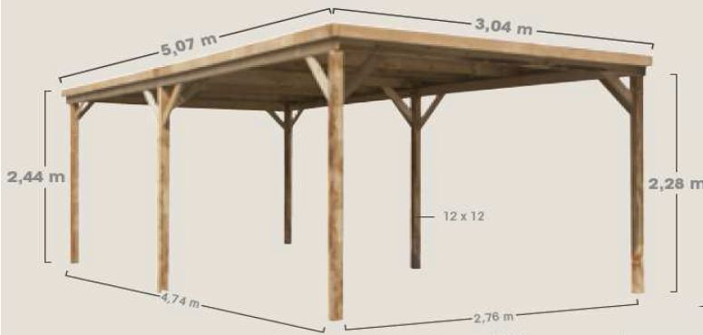 0700395-dimensions-carport-en-bois-evolution-1
