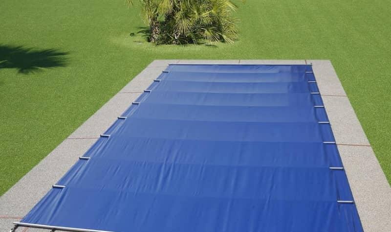 Bâche piscine à barres EVO