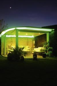 Bnadeau lumineux LED multicolore de 1 m