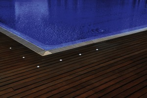 Ambiance abords piscine kit 6 spots LED