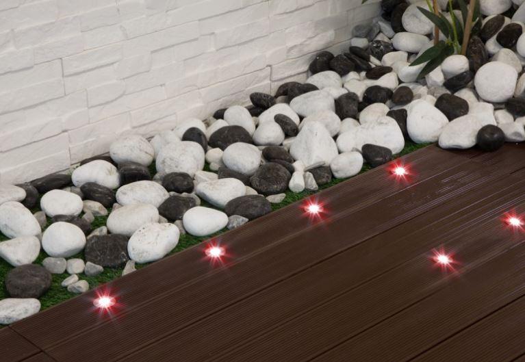 ambiance avec kit 6 mini spots LED RGB