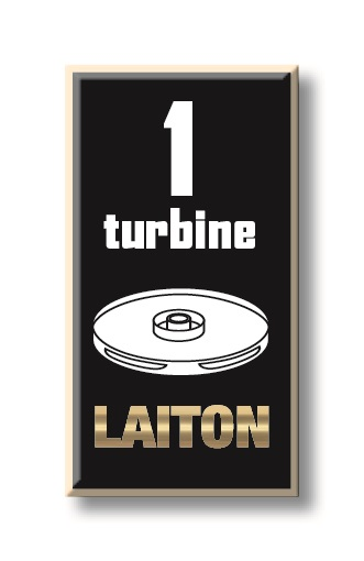 1 turbine laiton