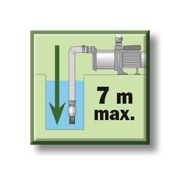 Profondeur maxi 7m