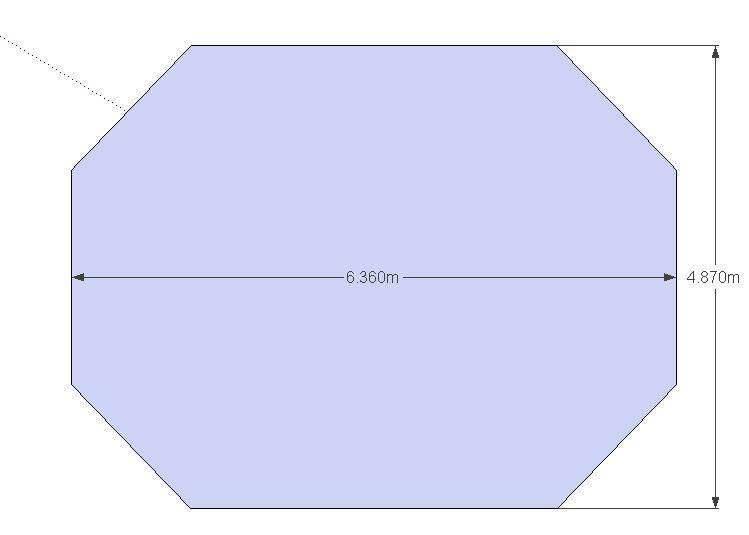 Bache Opaque Pour Piscine Hors Sol 5 15m X 3 65m A Prix Mini