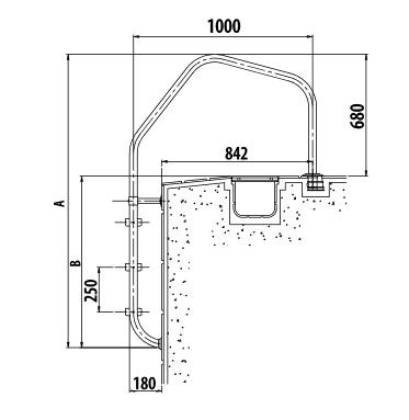 Dimensions échelle modèle 1000