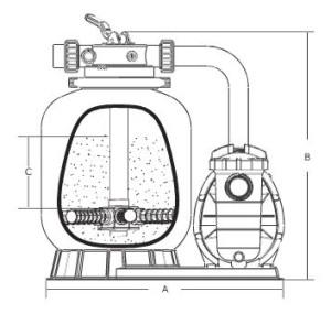 Dimensions Filtre Hydro S