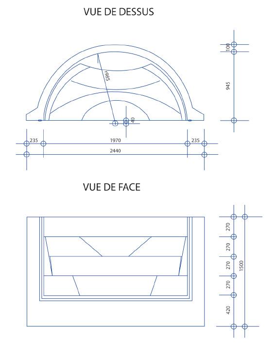 Taille standard escalier excellent calcul des escaliers for Taille standard piscine rectangulaire