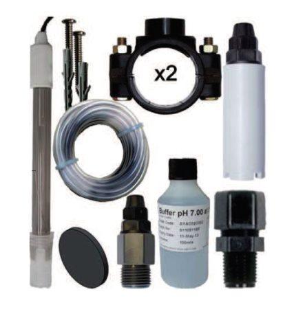 Kit complet pour régulateur pH STAR pH