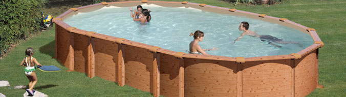 piscine bois sans jambe de force