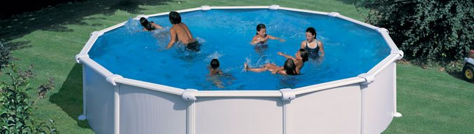 Piscine hors sol acier gre start top diam x for Piscine gre hors sol