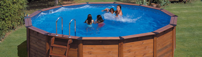 Piscine hors sol acier r sine nature pool diam for Calcul volume piscine ronde