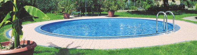 piscine enterr e sumatra ronde x prix canon sur piscineo. Black Bedroom Furniture Sets. Home Design Ideas