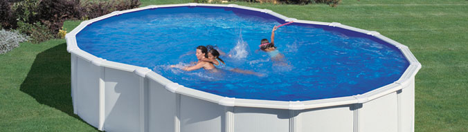 Piscine hors sol acier start plus forme 8 for Piscine en huit