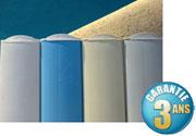 Volet piscine Voleo : choix des couleurs des lames PVC
